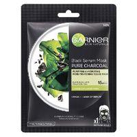 Garnier Black serum Mask - Pure Charcoal Image