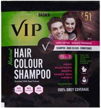 VIP Natural hair color -BLACK (5 in1) Image