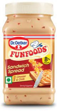 Fun foods Sandwich Spread Veg cheese & chill Image