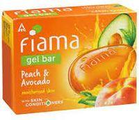 Fiama Di Wills Bathing Gel Bar - Mild Dew with Peach & Avocado Image