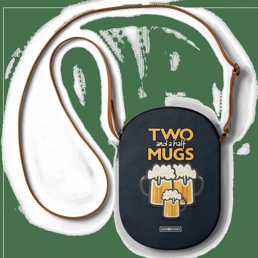 DailyObjects Beer 2 5 Mugs - Mini Featherlight Crossbody Bag