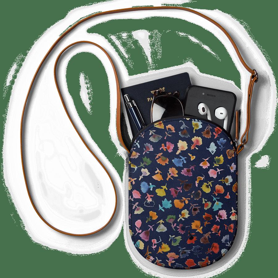 fa7a5714e398 DailyObjects Petites Fleurs 2 - Mini Featherlight Crossbody Bag Buy Online  in India - DailyObjects