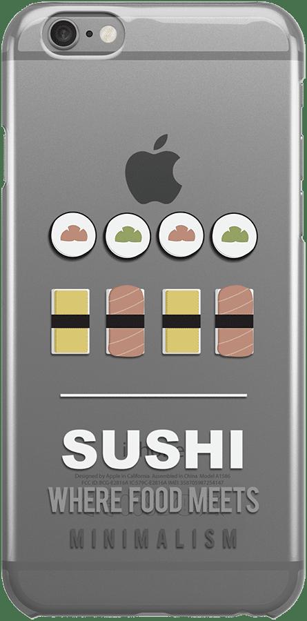 iphone 6 case sushi