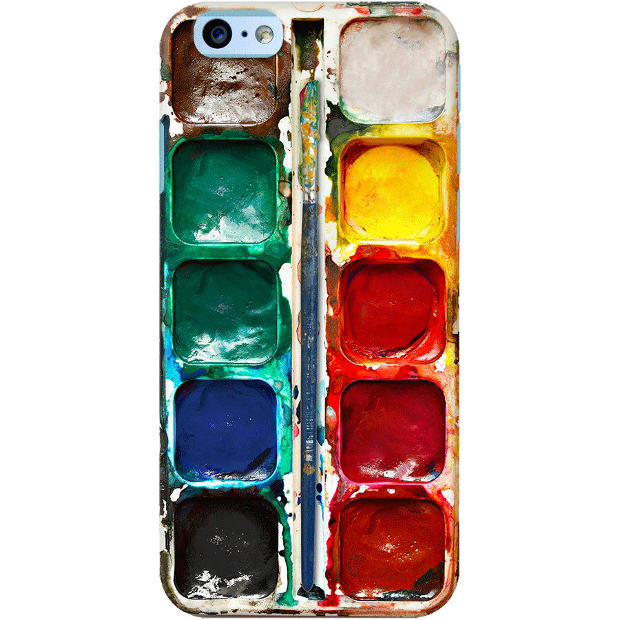 DailyObjects Water Color Palette Case For iPhone 6 Buy Online in ...