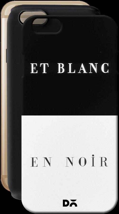 Dailyobjects Et Blanc En Noir Tough Case For Iphone 6s Buy