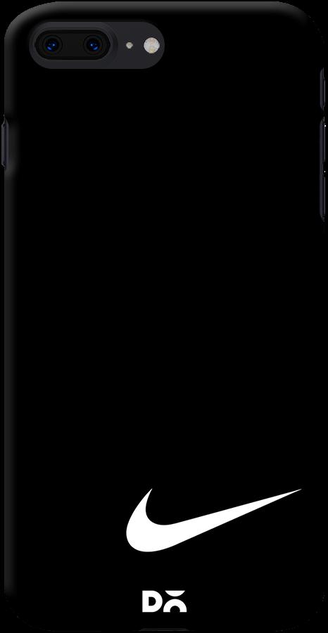 half off fa85f 13b2e DailyObjects Nike Black Swoosh Case For iPhone 7 Plus
