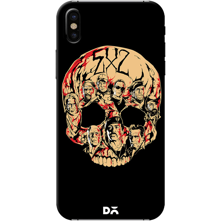 Dailyobjects Expendables 2 Case Cover For Iphone X Buy Online In