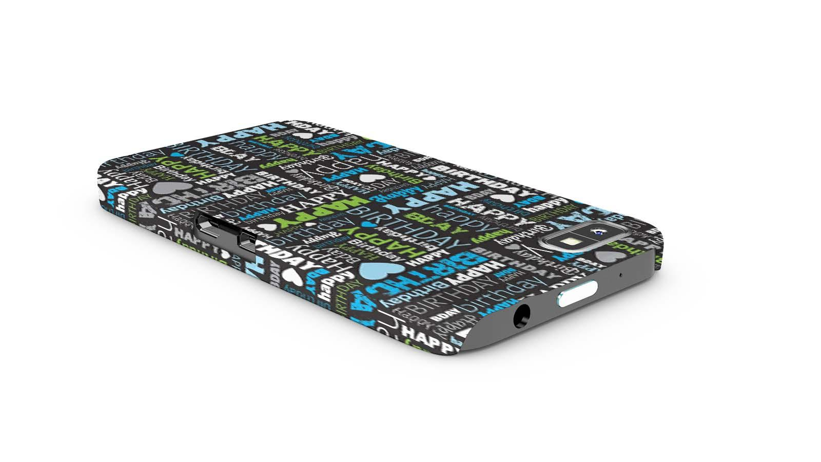 DailyObjects Happy Birthday Type Case For BlackBerry Z10