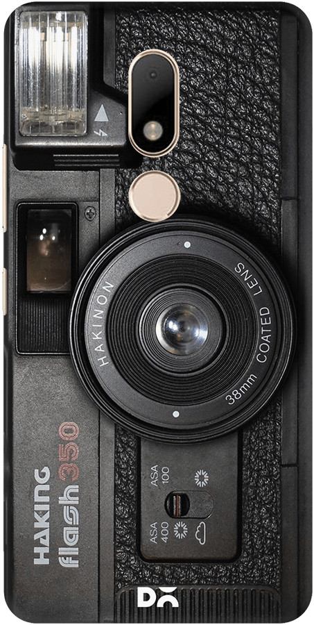 DailyObjects Camera Case For Motorola Moto M Buy Online in India