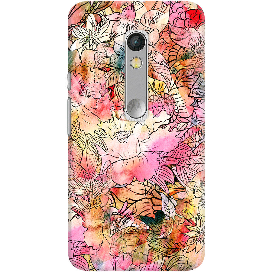 DailyObjects Colorful Watercolor Floral Pattern Abstract ...