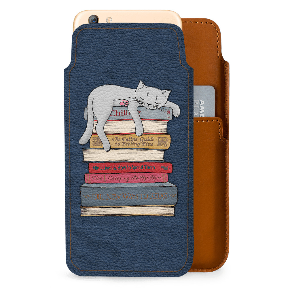 detailed pictures 37042 fa4c0 DailyObjects How to Chill Like A Cat Real Leather Wallet Case Cover For  Oppo F3 Plus