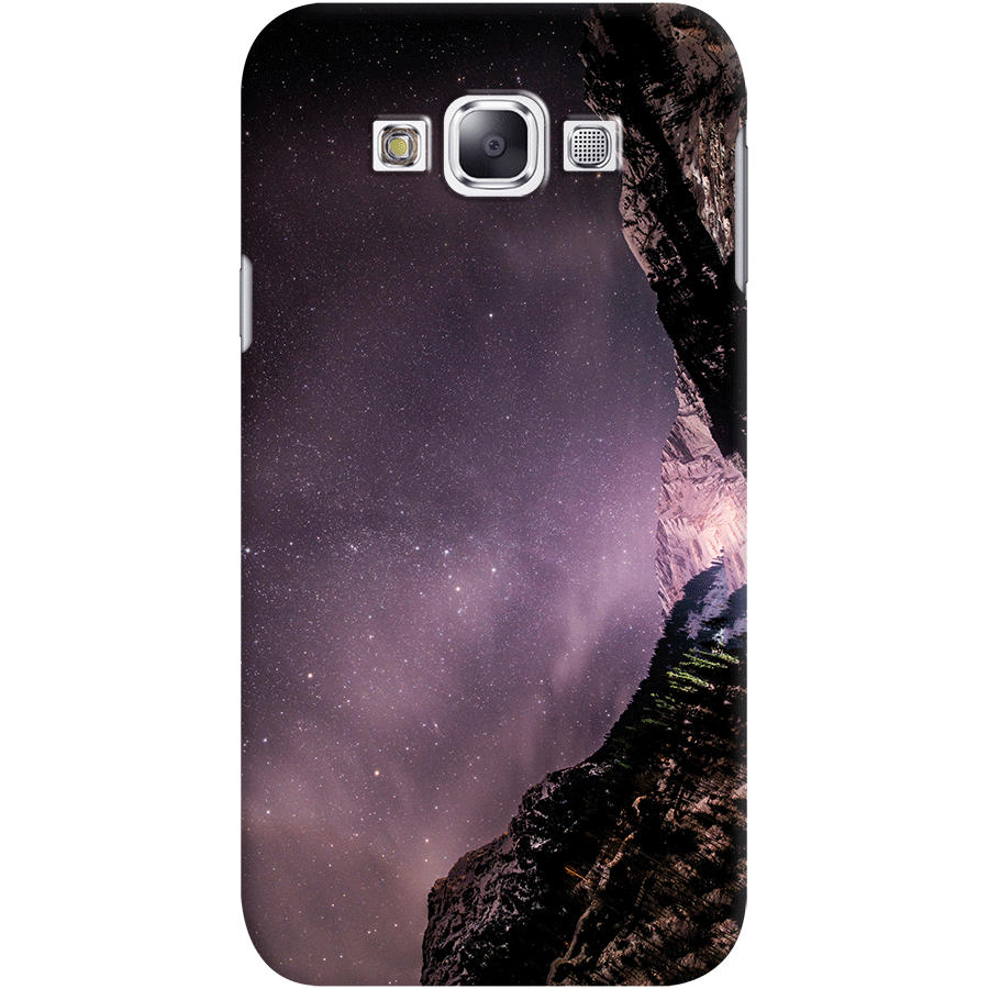 Dailyobjects Bright Night Case For Samsung Galaxy E7 Buy Online In