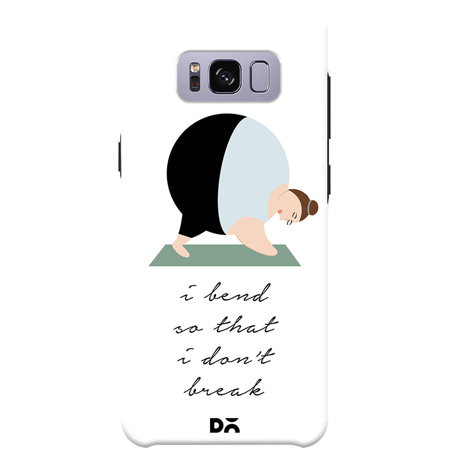 Samsung Quote Amazing Dailyobjects Yoga Quote Case For Samsung Galaxy S8  Buy Online In