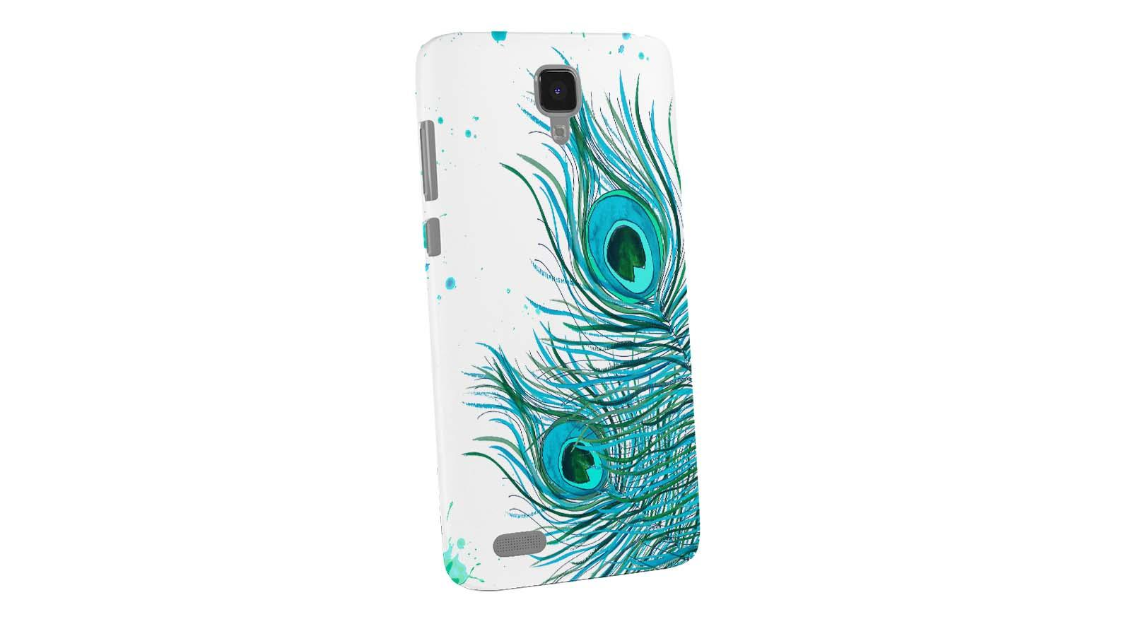 Dailyobjects Peacock Feather Mint Case For Xiaomi Redmi Note 4g