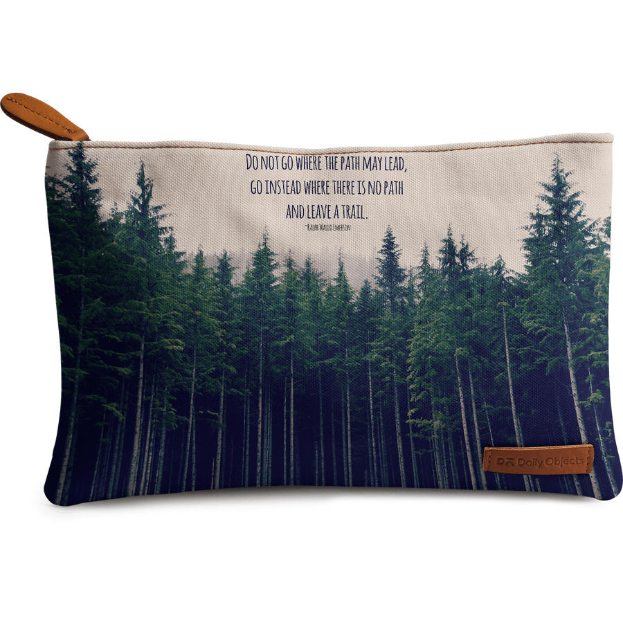 Dailyobjects Emerson Regular Stash Pouch Buy Online In India Medium Brown New