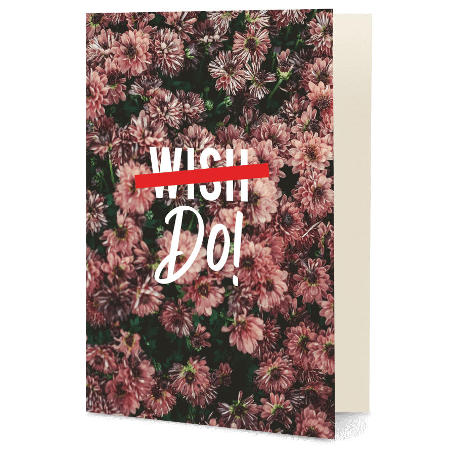 Dailyobjects Wish Do A6 Greeting Card Buy Online In India Dailyobjects