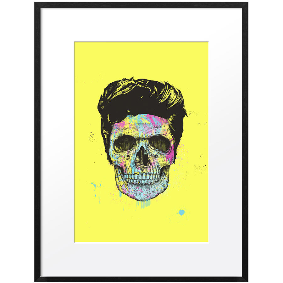 DailyObjects color your death Small Wall Art Framed Black-Small Buy ...