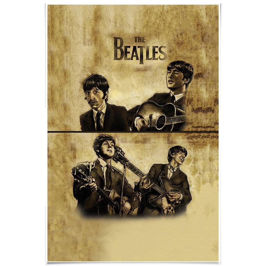 Nice The Beatles Wall Art Ideas - The Wall Art Decorations ...