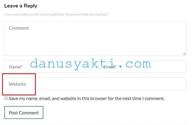 Blokir Komentar Spam Di WordPress Tanpa Plugin