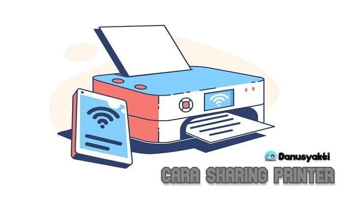 Cara Sharing Printer