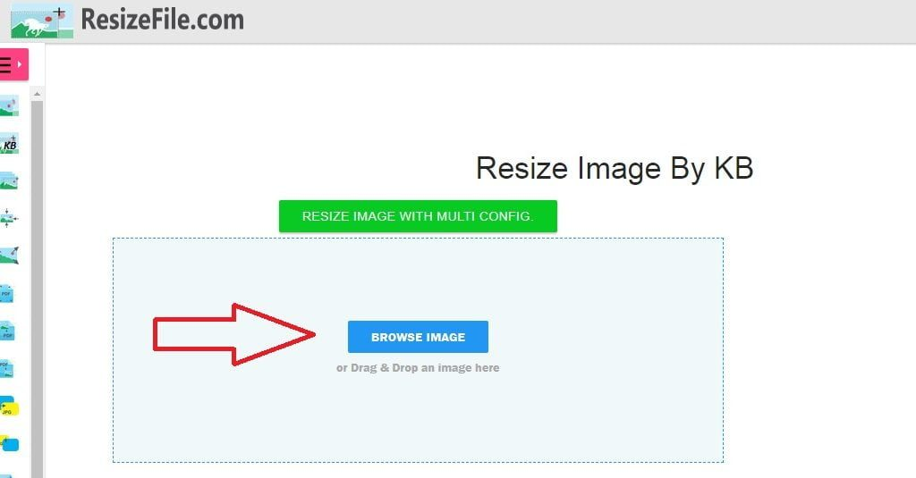 Cara mengubah ukuran foto menjadi 100kb secara online