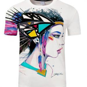 Aztec Feathered Pixie Cold T-shirt