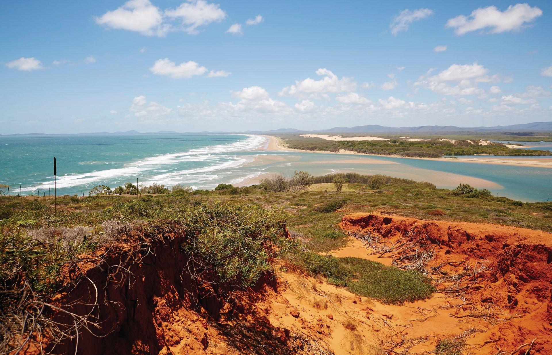 Het plaatsje Agnes Water/1770 aan de Ooskust van Australie is ideaal om te wandelen en te genieten van rust, ruimte en natuur.
