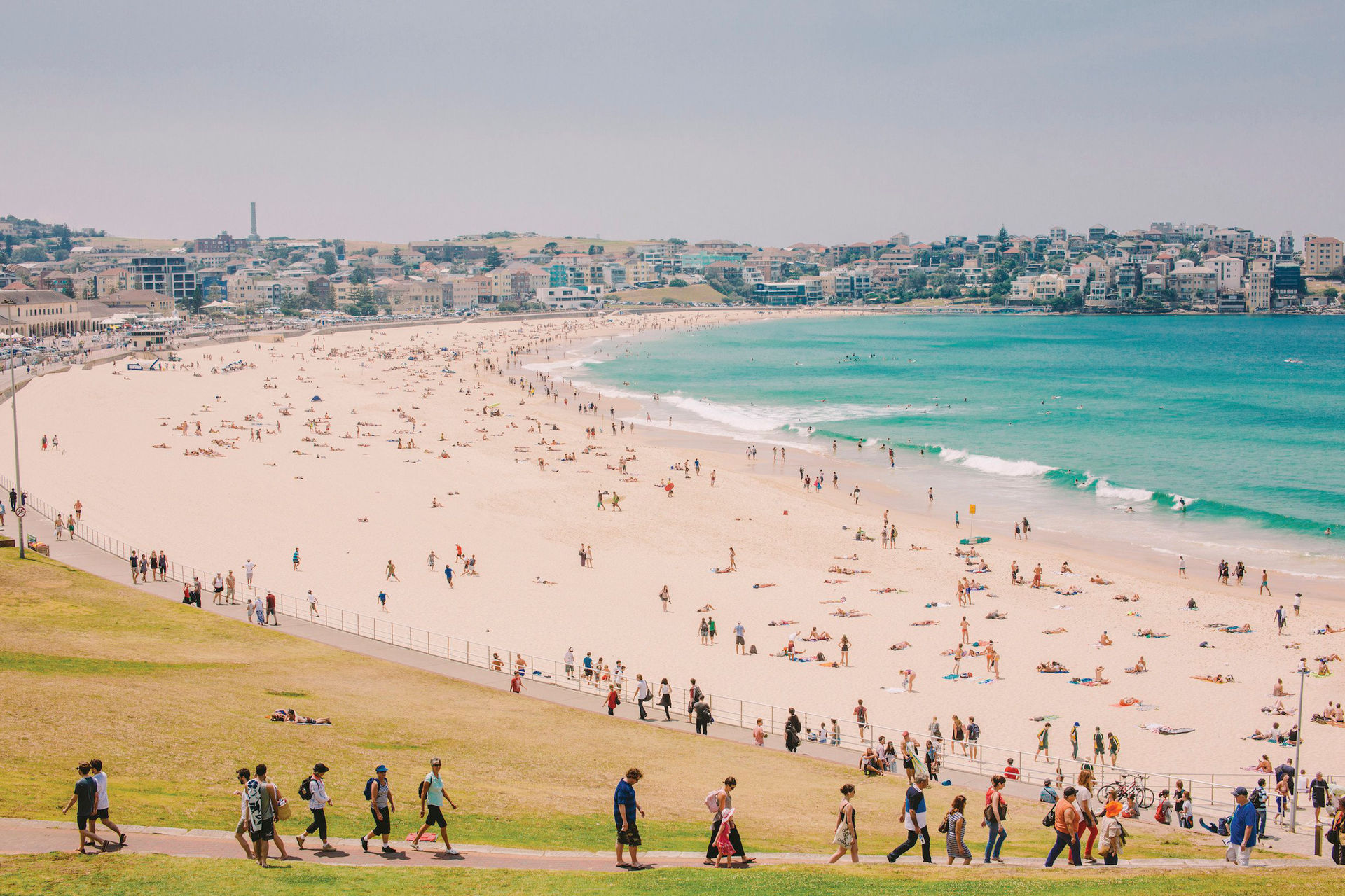 Bondi Beach strand surfer und strand