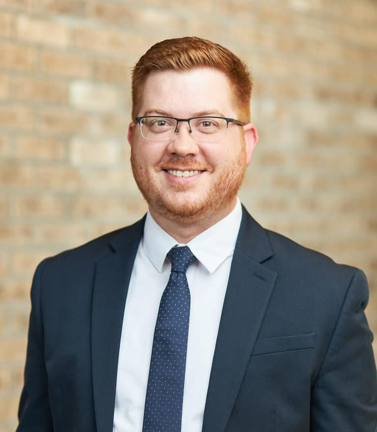 Accident and Injury Attorney Andrew Strong with The Barber Law Firm Jared Mullowney