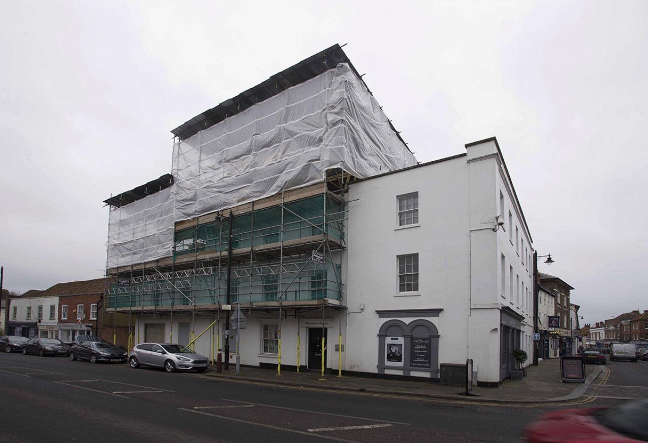 Remove complex scaffolding