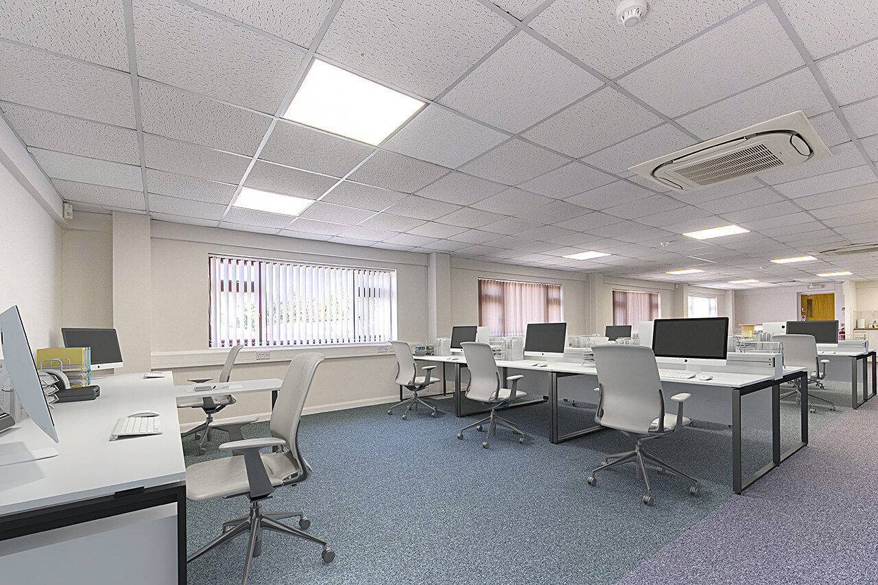 Commercial Office Staging