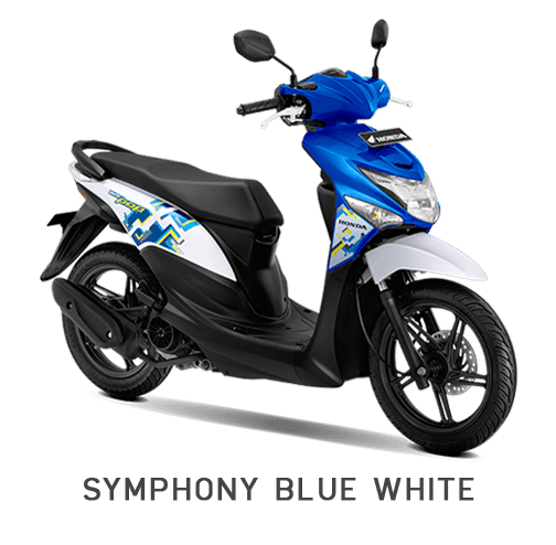 Honda BeAT POP Symphony Blue White