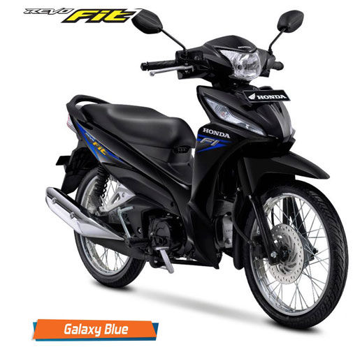 Honda Revo Fit Fi Galaxy Blue