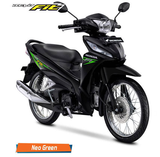 Honda Revo Fit Fi Neo Green