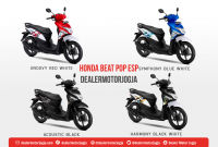 Honda Beat Pop Jogja