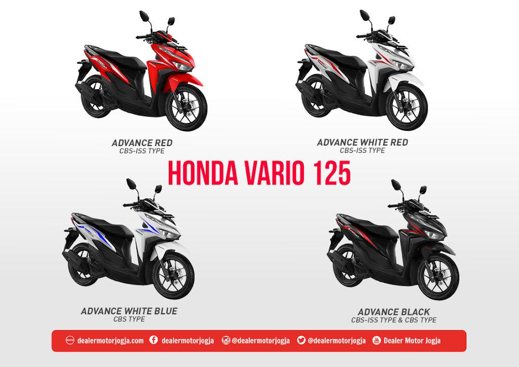 Promo Harga Cash Kredit Honda Vario 125 Esp Jogja 2020