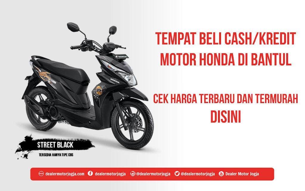 Harga Cash Kredit Motor Honda Di Bantul Murah Terbaru 2020
