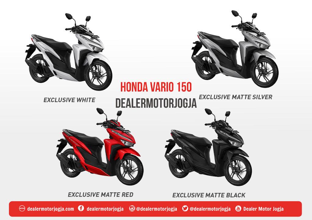 Promo Harga Cash Kredit Honda Vario 150 Esp Jogja 2020