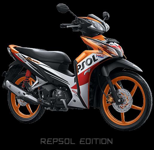 Honda Blade 125 FI Repsol Edition