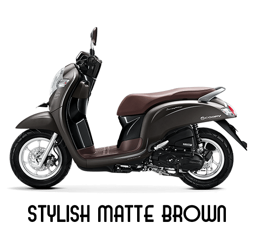 Honda Scoopy Stylish Matte Brown