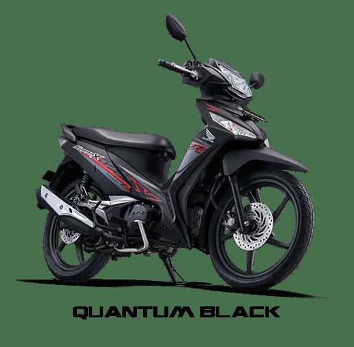 Supra X 125 FI Quantum Black