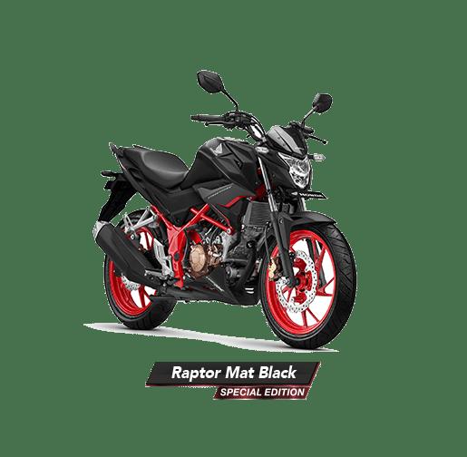 CB150R RAPTOR MAT BLACK