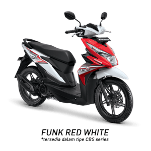 Honda BeAT eSP Hard Funk Red White