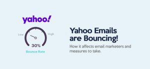 Yahoo Emails are Bouncing: How it affects email marketers and measures to take