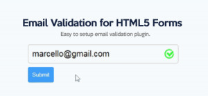Email Validation for HTML Forms