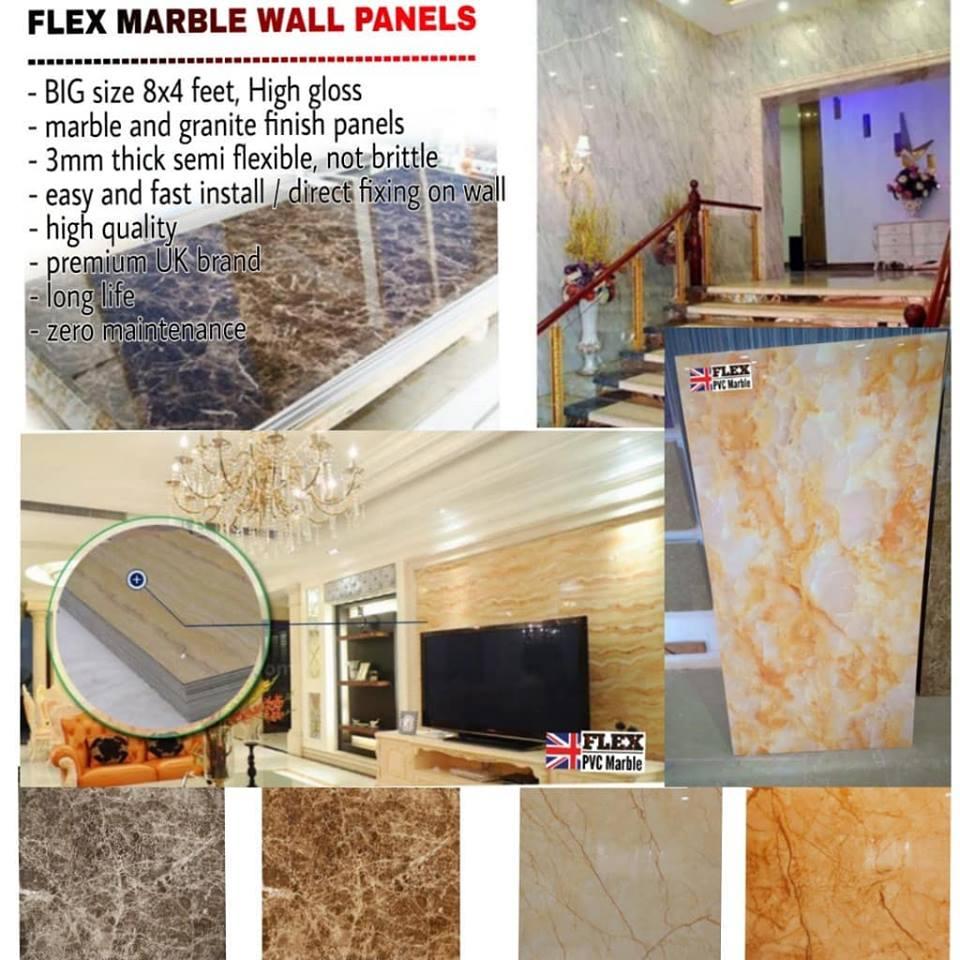 Flex PVC Marble Sheet