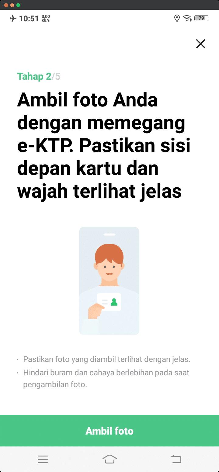 Foto Anda dan e-KTP