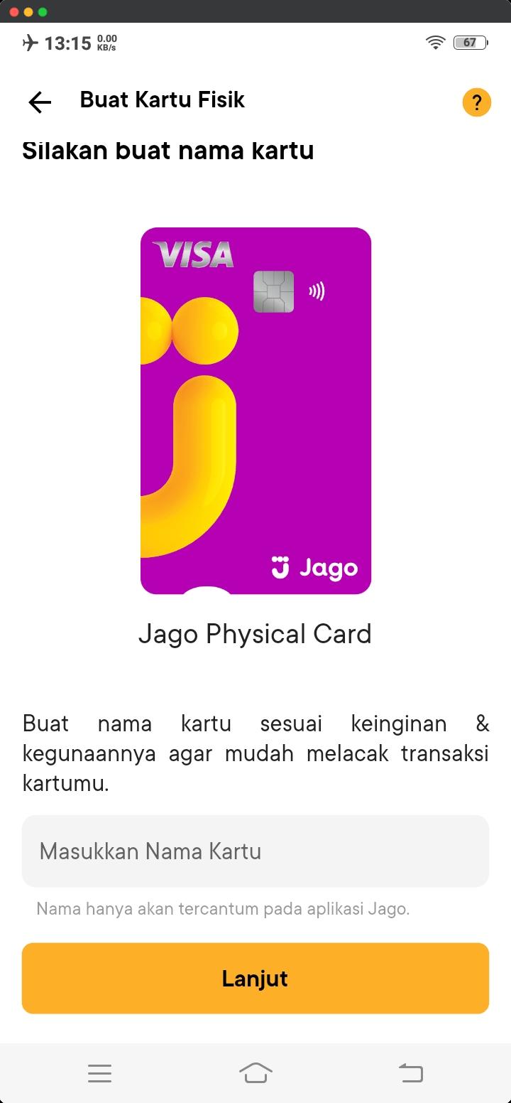 Nama Kartu