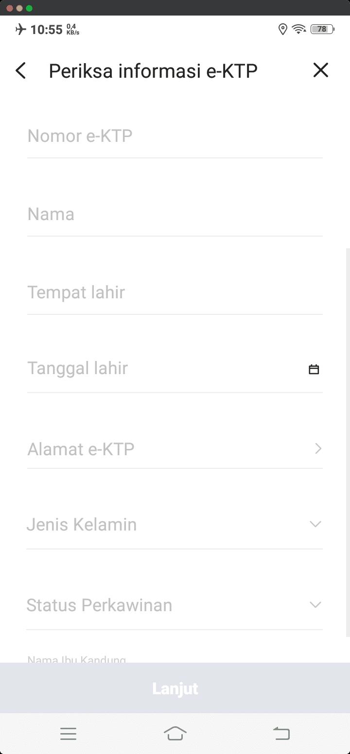 Periksa Informasi e-KTP