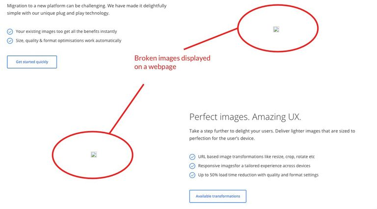 Image Management to avoid broken images